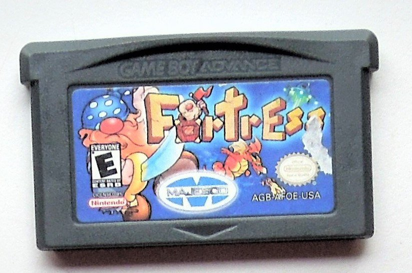 2001 Majesco Fortress For Game Boy Advance & Nintendo DS Game systems