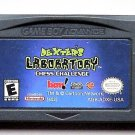 2002 BAM Dexter's Laboratory Chess Challenge For Game Boy Advance & Nintendo DS
