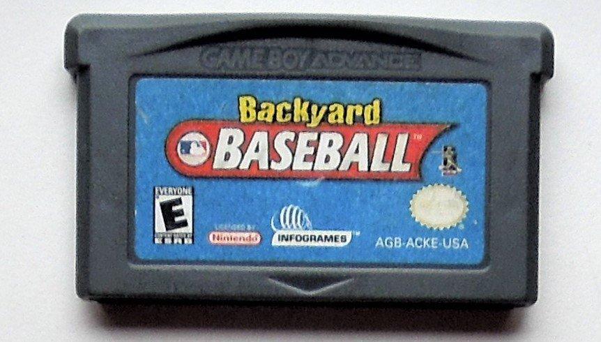 2002 Infogrames Backyard Baseball For The Gameboy Advance & Nintendo DS