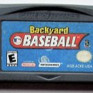 2002 Infogrames Backyard Baseball For The Gameboy Advance & Nintendo DS