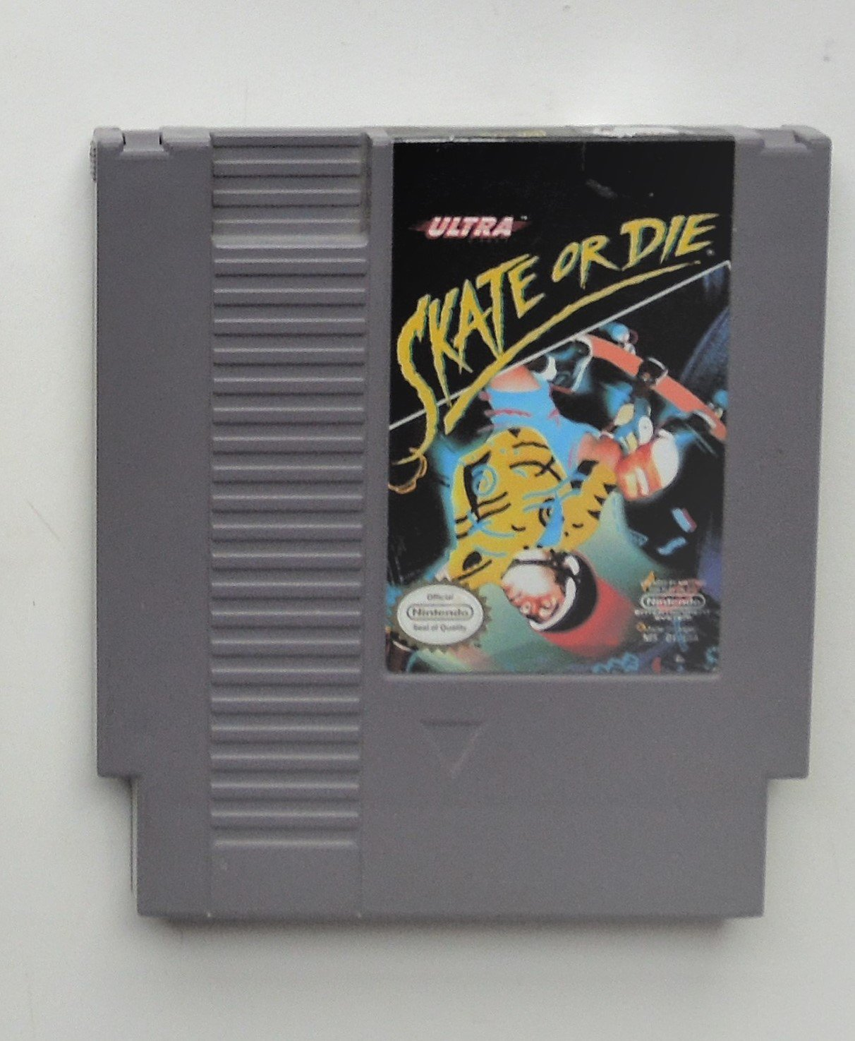 1988 Ultra Skate Or Die For The Classic NES Nintendo Entertainment System