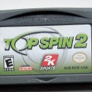 2001 2K Sports Top Spin 2 For Game Boy Advance & Nintendo DS Systems