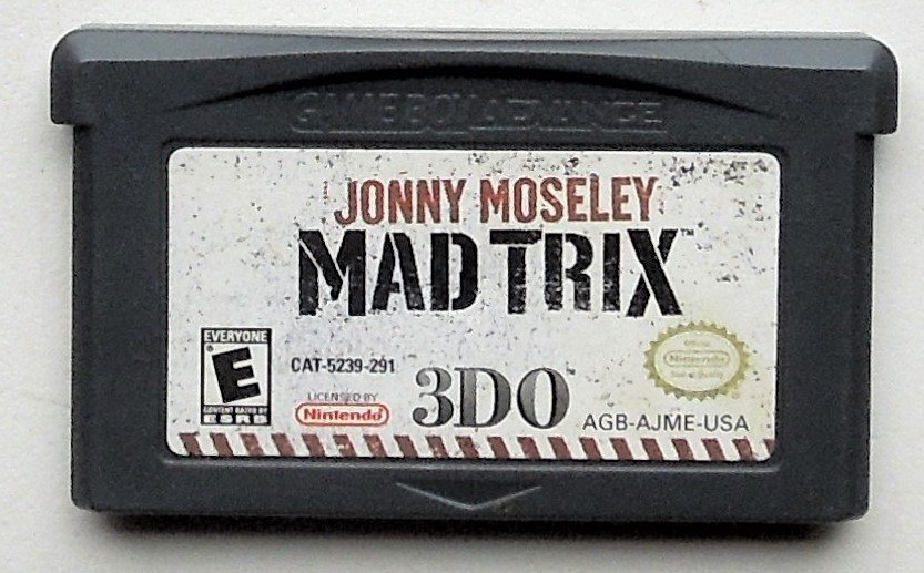 2002 3DO John Moseley Mad Trix For Gameboy Advance & Nintendo DS Game systems