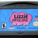 2003 Disney Interactive Lizzie McGuire On The Go For Nintendo Game Boy Advance