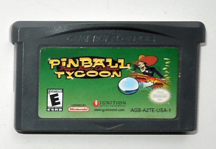 2004 Ignition Pinball Tycoon For Game Boy Advance & Nintendo DS