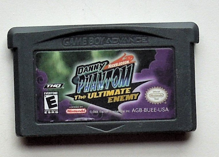 2005 THQ Danny Phantom The Ultimate Enemy For Game Boy Advance & Nintendo DS