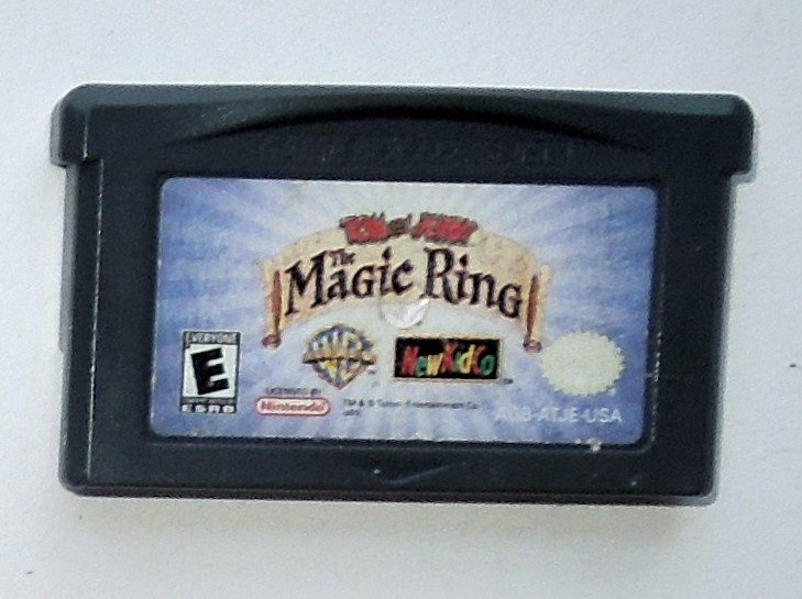 2001 NewKidCo Tom And Jerry The Magic Ring for Game Boy Advance & Nintendo DS