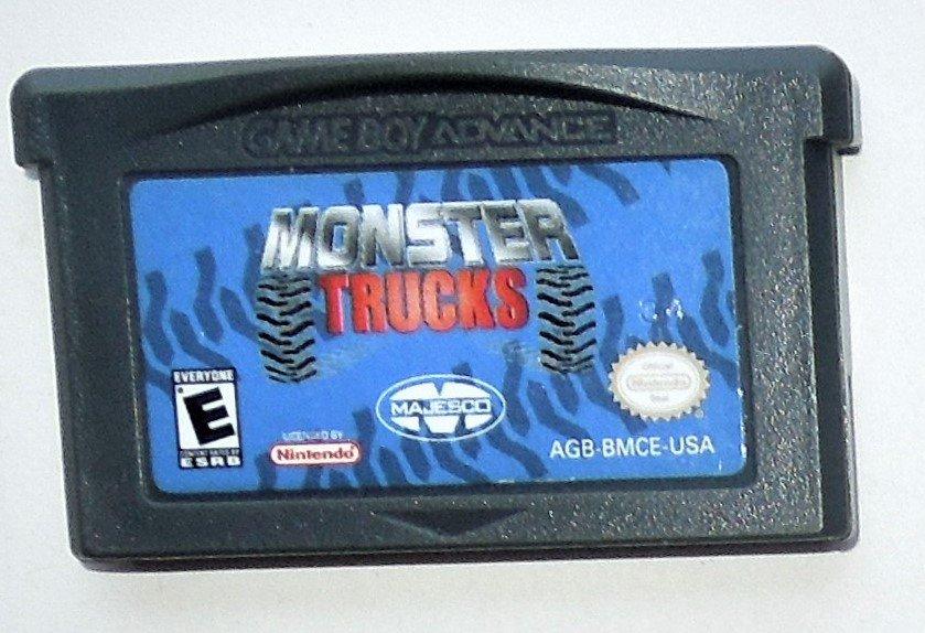 2004 Majesco Monster Trucks For the Game Boy Advance & Nintendo DS Game system