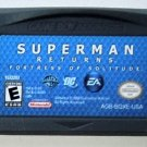 2006 Electronic Arts Superman Returns Fortress Of Solitude For Game Boy Advance