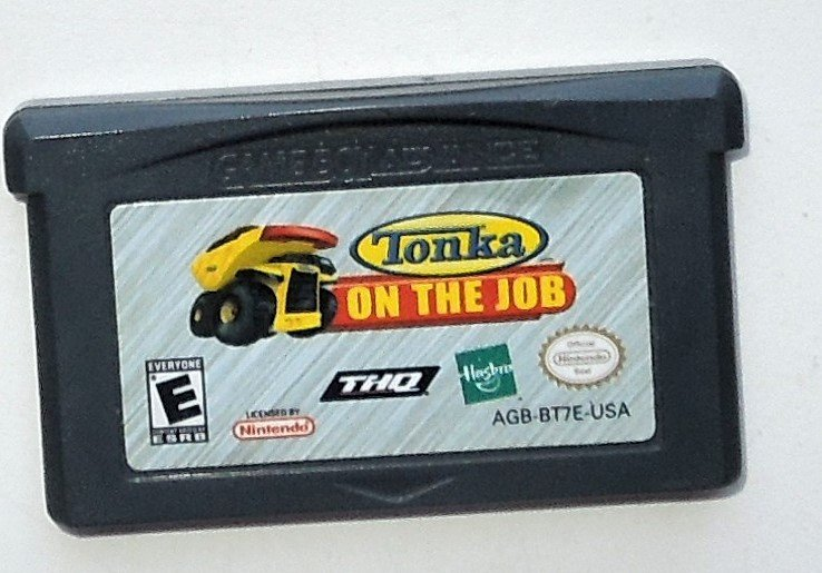 2006 THQ Tonka On The Job For The Game Boy Advance & Nintendo DS Game systems