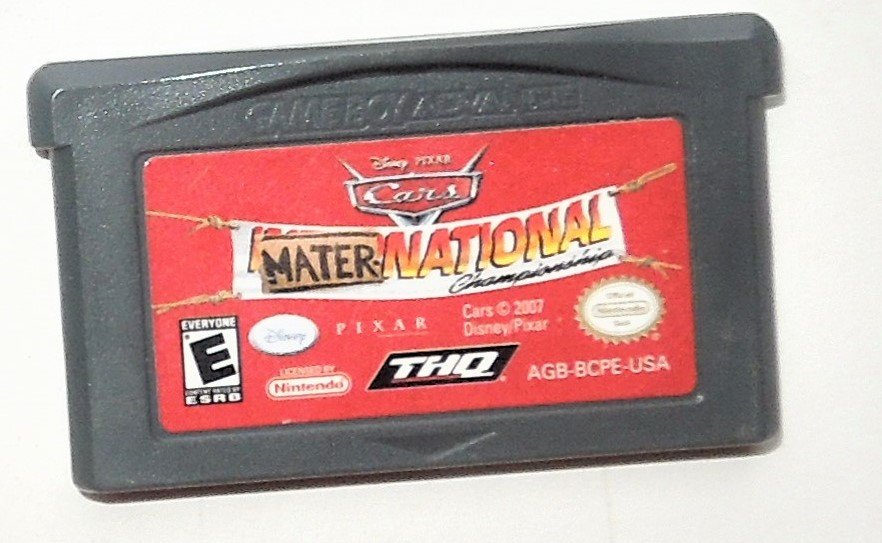 2007 THQ Disney's Cars Mater National Championship For The Game Boy Advance