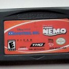 2005 THQ Disney's Monsters, Inc. & Finding Nemo For Game Boy Advance