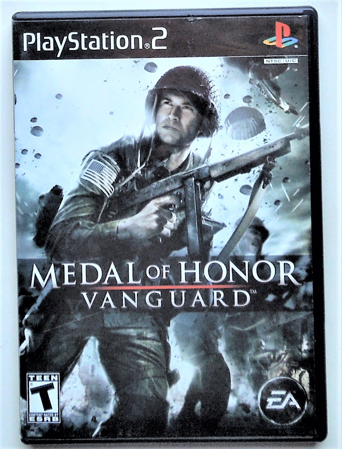 2007 Electronic Arts Medal Of Honor Vanguard For Playstation 2 Game Systems