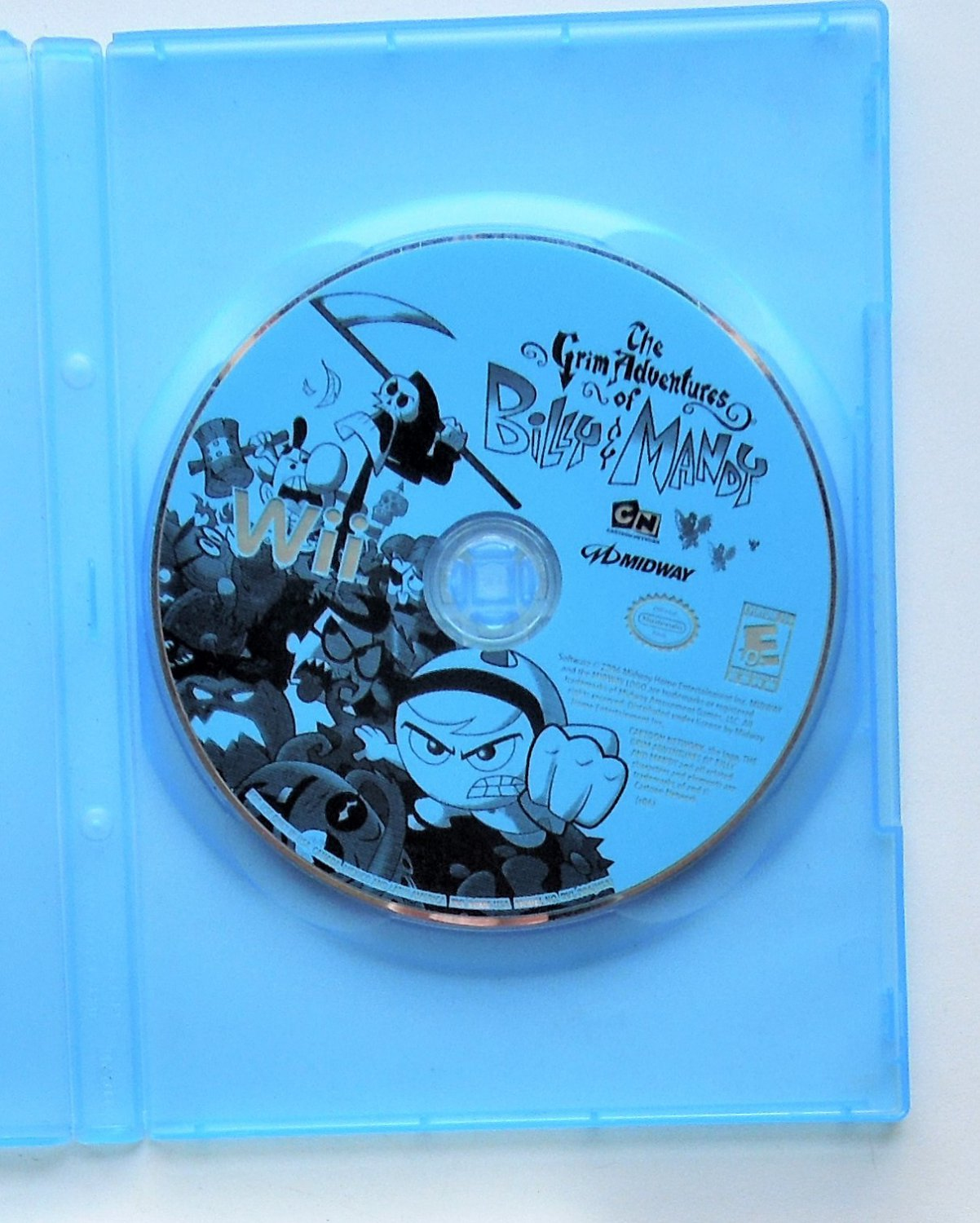 2006 Midway The Grim Adventures Of Billy & Mandy For Nintendo Wii Game Systems