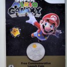 2007  Nintendo Super Mario Galaxy Wii Commemorative Launch Coin Limited Edition