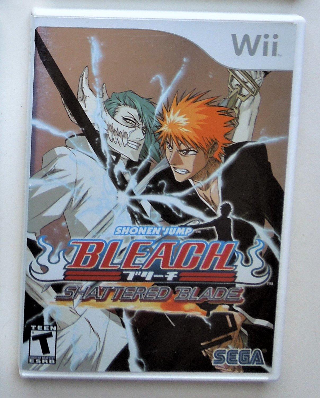 2007 Sega Shonen Jump Bleach: Shattered Blade For Wii Game Systems