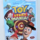 2009 Disney Pixar Toy Story Mania For Wii Game Systems