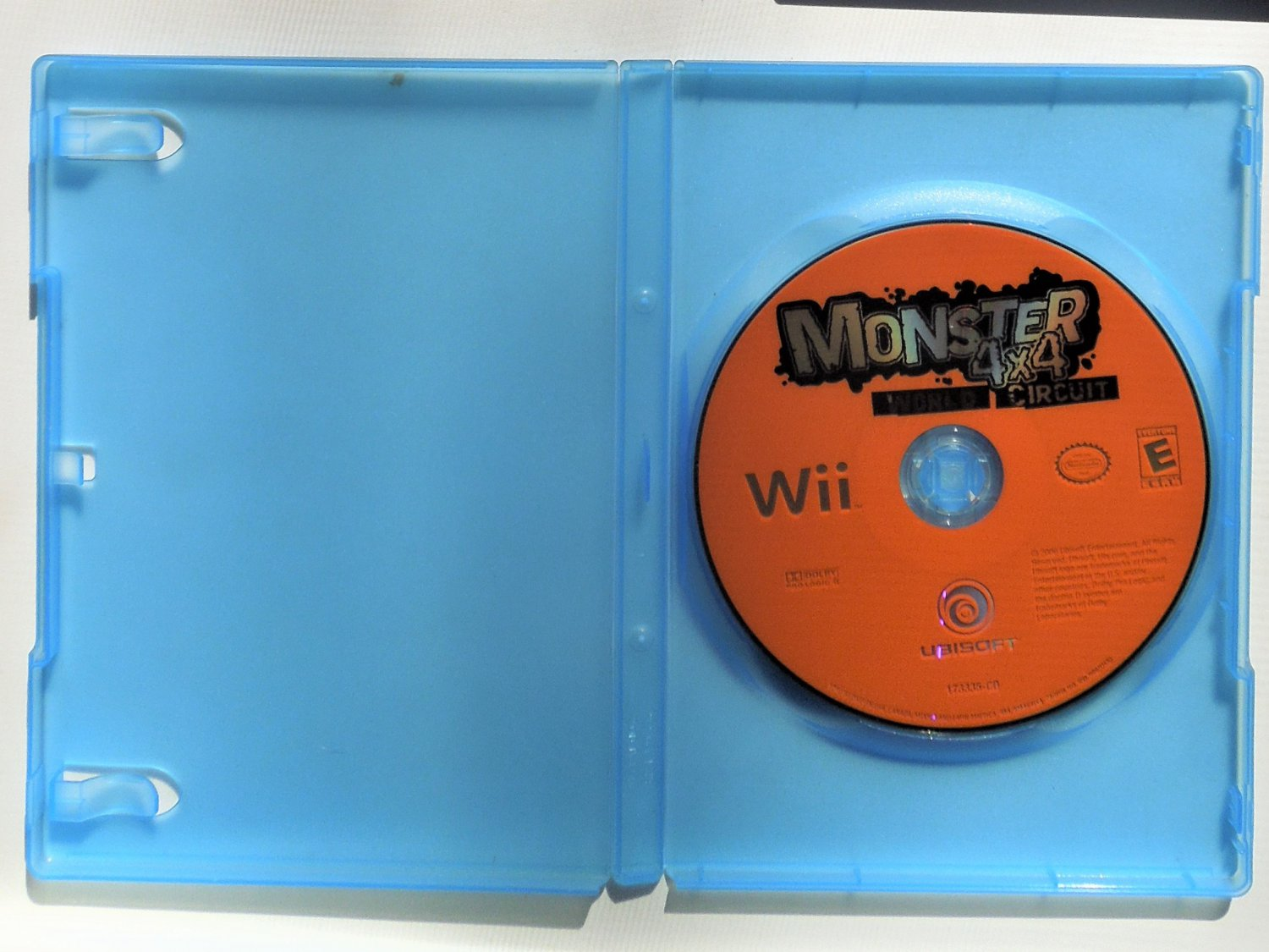 2006 Ubisoft Monster 4x4 World Circuit For Nintendo Wii Game Systems Disc Only