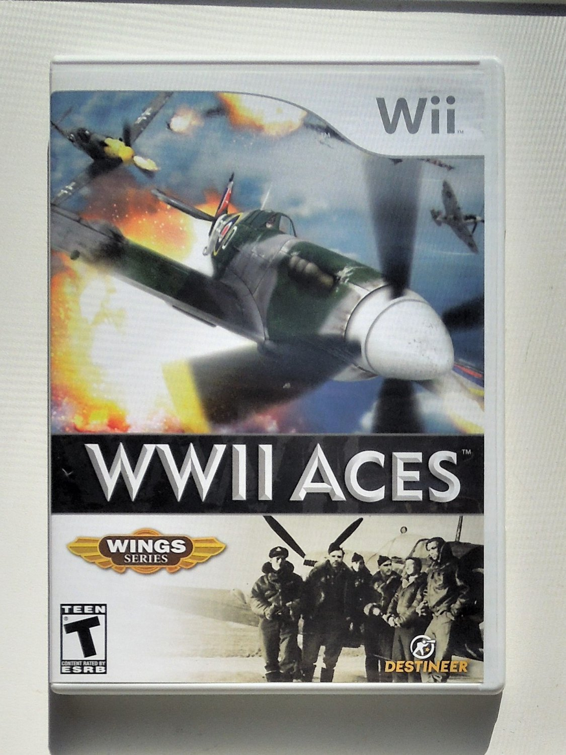 2007 Destineer WWII Aces Wings Series For Nintendo Wii Game Systems