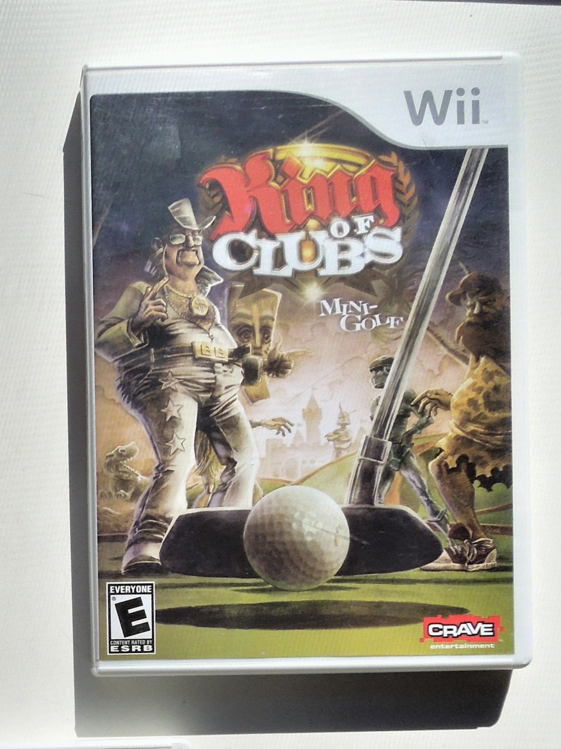 2008 Crave King Of Clubs For Nintendo Wii Game Systems