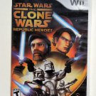 2009 Lucasarts Star Wars Clone Wars Repubic Heroes For Nintendo Wii System