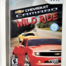 2010 Storm City Games Chevrolet Camaro Wild Ride For Nintendo Wii Game Systems