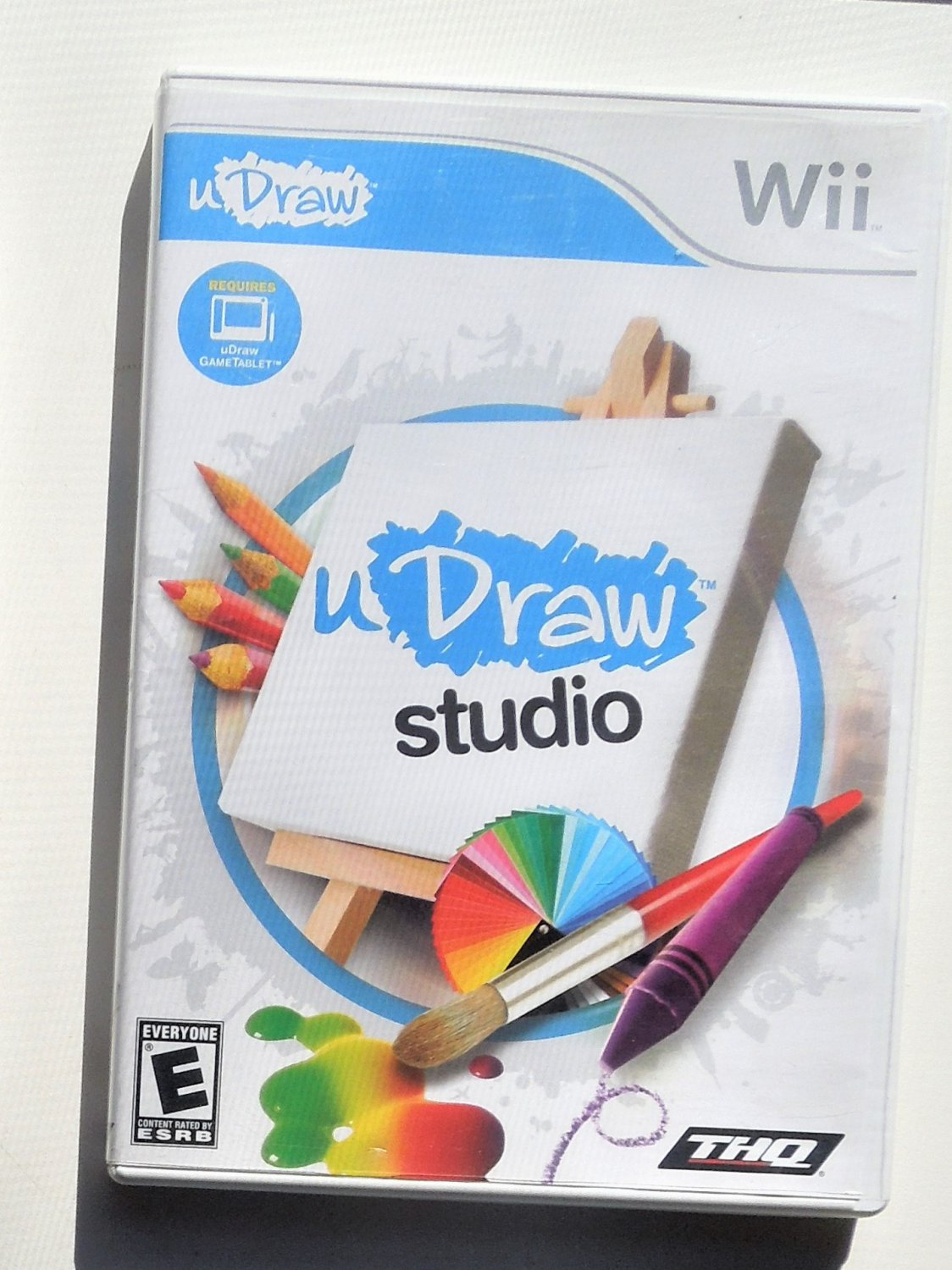 2010 THQ U Draw Studio For Nintendo Wii Game Systems