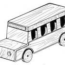 School Bus #203 - Woodworking / Craft Patterns