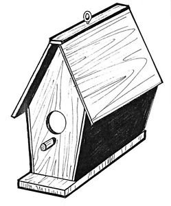 Bird House #910 Woodworking / Craft Pattern