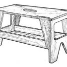 Portable Workbench #919 - Woodworking / Craft Patterns