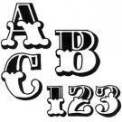 TRACEABLE  ALPHABET #118  -  Woodworking / Craft Pattern