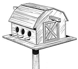 Bird Barn #908 - Woodworking / Craft Pattern