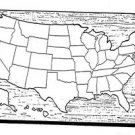 "USA Puzzle Map #526 - ""ON SALE"" Woodworking / Craft Patterns"