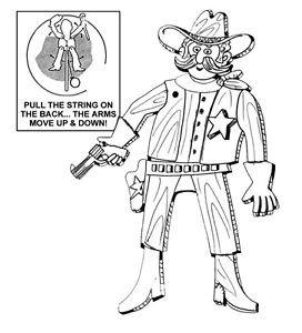 "Lawman - Jumpin' Jack  #903 - ""ON SALE"" Woodworking / Craft Pattern"