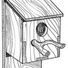 "Rustic Bird House #917 - ""ON SALE"" Woodworking / Craft Pattern"