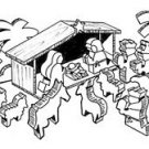 "Nativity Scene #610 - ""ON SALE""  Woodworking / Craft Pattern"
