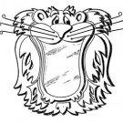 "Roaring Lion Mirror #501-mp  -  ""ON SALE"" Woodworking / Craft Pattern"