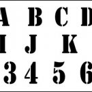 TRACEABLE ALPHABET  #123 -  Woodworking / Craft Pattern