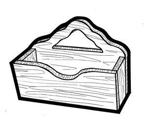 Letter Organizer #178- Woodworking / Craft Patterns