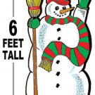 "6 foot Snowman #625 - ""ON SALE"" Woodworking / Craft pattern"
