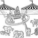 "Big Top Circus, Play Set #807 - ""ON SALE""  Woodworking / Craft Pattern"