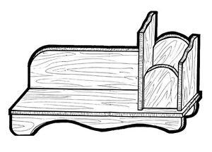 """Book Organizer #177 -   """" ON SALE""""  Woodworking / Craft Patterns"""