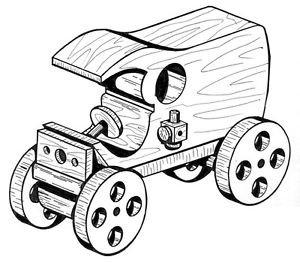 Milk Wagon #211 - Woodworking / Craft Patterns