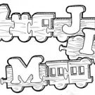 Name Train #112 - Woodworking / Craft Patterns