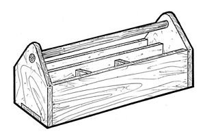 Tool Toter #919 - Woodworking / Craft Pattern