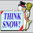 "Snowman with Sign #615 - ""ON SALE"" Woodworking / Craft pattern"