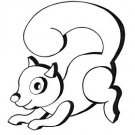 "Squirrel Wall Decor #505 - ""ON SALE""  Woodworking / Craft Pattern"