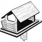 Bird Feeder #909 - Woodworking / Craft Pattern