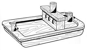 Towing Barge #214 - Woodworking / Craft Patterns