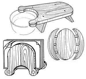 """Modern Set Kitchen Helpers #309 - """"ON SALE"""" Woodworking / Craft Pattern"""